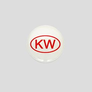 KV Oval (Red) Mini Button
