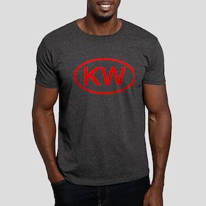 KV Oval (Red) Dark T-Shirt