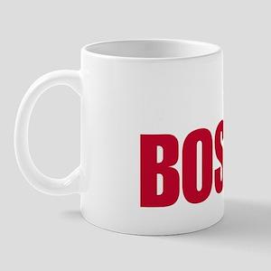 My heart is in Boston Mug