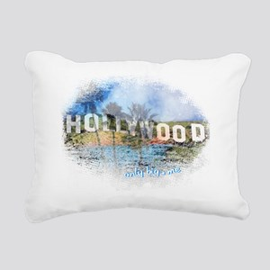 Hollywood Rectangular Canvas Pillow