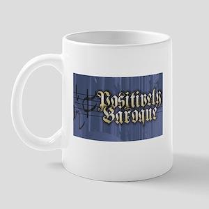 Organlive and Positively Baroque logos Mug