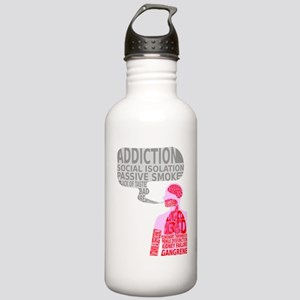 What smoking does? Stainless Water Bottle 1.0L