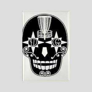 Sugar Skull Catcher - Birdshot Di Rectangle Magnet