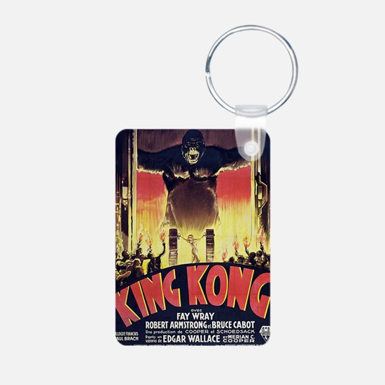King Kong 1933 French post Keychains