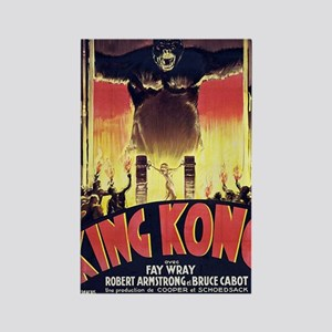 King Kong 1933 French poster Rectangle Magnet
