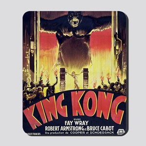 King Kong 1933 French poster Mousepad