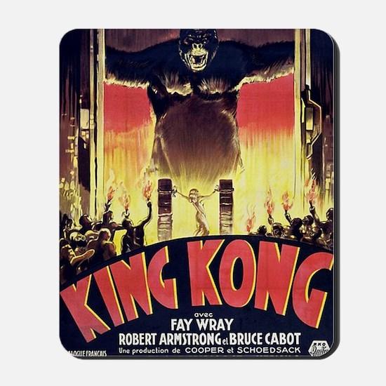 King Kong 1933 French poster Mousepad