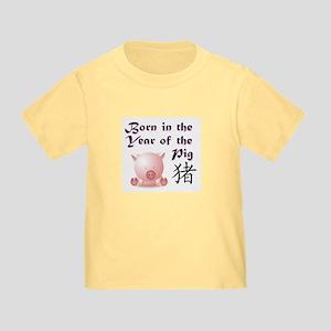 Pig Toddler T-Shirt