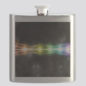 7 chakra H Mouse pad Flask