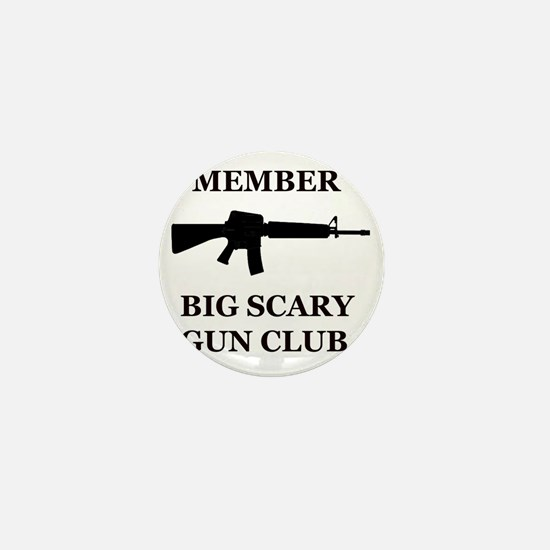 Big Scary Gun Club Mini Button