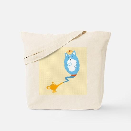 Corgi Genie Tote Bag
