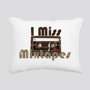 Mix tape Rectangular Canvas Pillow