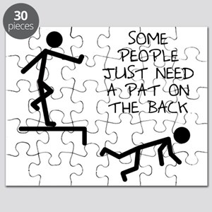 A Pat On The Back Funny T-Shirt Puzzle