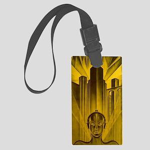 Metropolis 1927 Movie Poster Large Luggage Tag