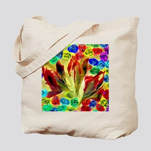 Flowers and Marbles Tote Bag