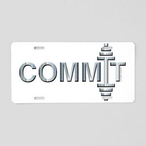 COMMIT -- Fit Metal Designs Aluminum License Plate