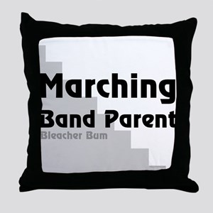 Marching Band Bum Throw Pillow