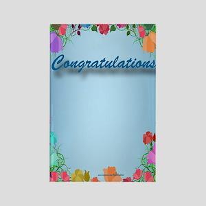 Congrats Rectangle Magnet