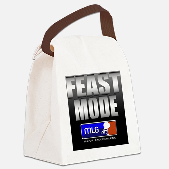 FEAST MODE Canvas Lunch Bag