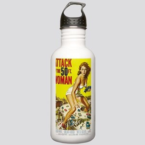 Attack of the 50 Foot  Stainless Water Bottle 1.0L