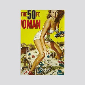 Attack of the 50 Foot Woman Poste Rectangle Magnet