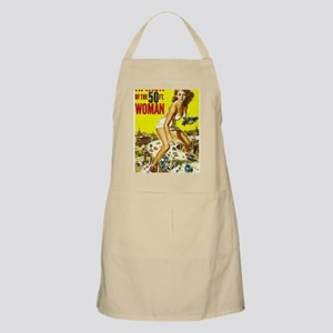 Attack of the 50 Foot Woman Poster Apron