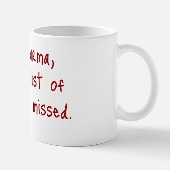Karma List Mug