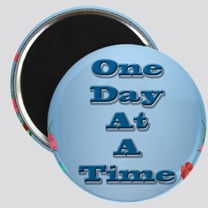 One Day At A Time Card Magnet