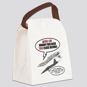 Top Fun Canvas Lunch Bag