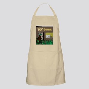 First Come First Served Apron