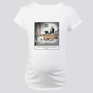 Sensual Harassment Maternity T-Shirt
