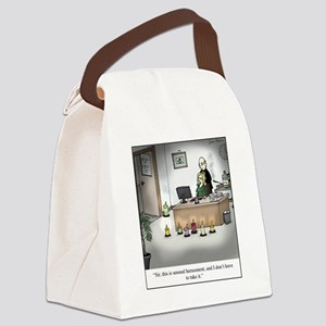 Sensual Harassment Canvas Lunch Bag