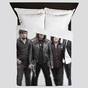 Band Photo No Logo Queen Duvet