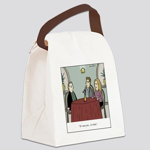 Its Him Canvas Lunch Bag