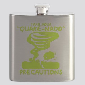 Take Your Quake-Nado Precautions Flask