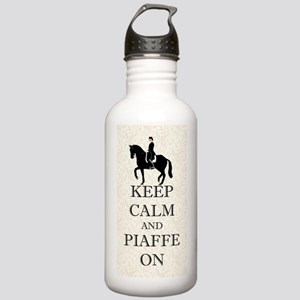 Keep Calm and Piaffe O Stainless Water Bottle 1.0L