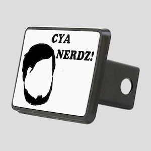 Cya Nerds Rectangular Hitch Cover