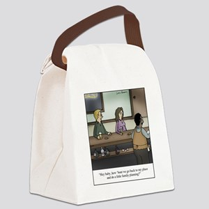 Family Planning Canvas Lunch Bag