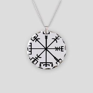 Aegishjàlmr, Helm of Awe Necklace Circle Charm