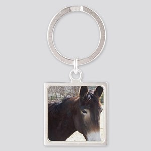 mule Square Keychain