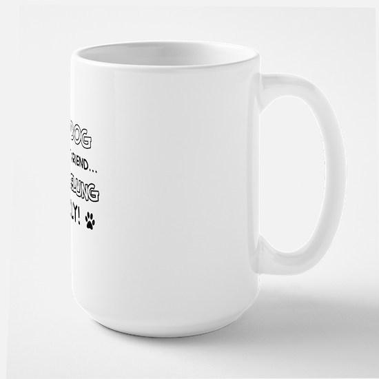 Nebelung Cat family Large Mug
