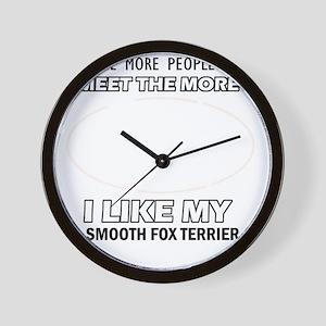 I like my Smooth Fox Terrier Wall Clock