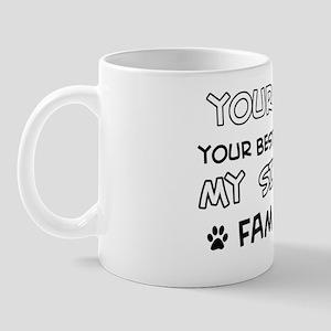 Siamese Cat family Mug