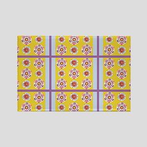 Light Passion Duvet Pattern Rectangle Magnet