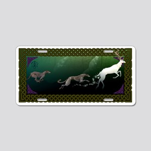 Magical Chase Aluminum License Plate