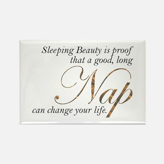 Sleeping Beauty... Rectangle Magnet