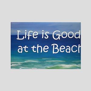 Beach Rectangle Magnet