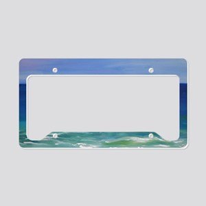 Beach License Plate Holder