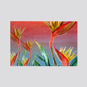 Bird of Paradise Rectangle Magnet