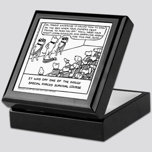 Special Forces Bed Excercise Keepsake Box